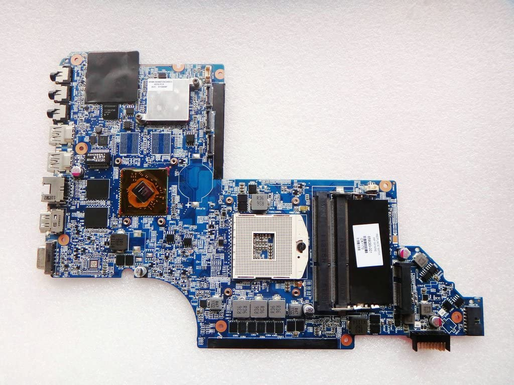659093-001 for HP DV7 DV7-6000 Laptop Motherboard DV7T-6100 Notebook HM65 6490/1G 100% Tested