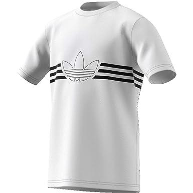 adidas Outline Tee, T Shirts Bambino: Amazon.it: Abbigliamento