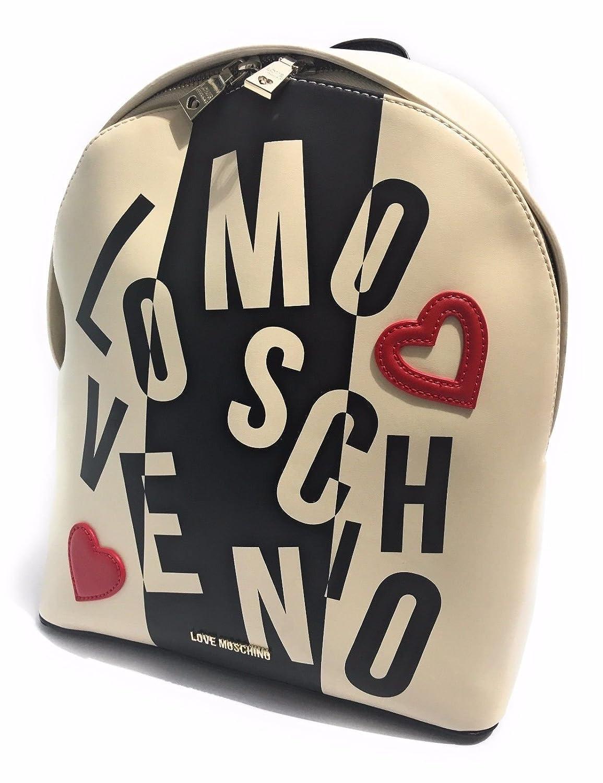 Love Moschino zaino Calf avorio