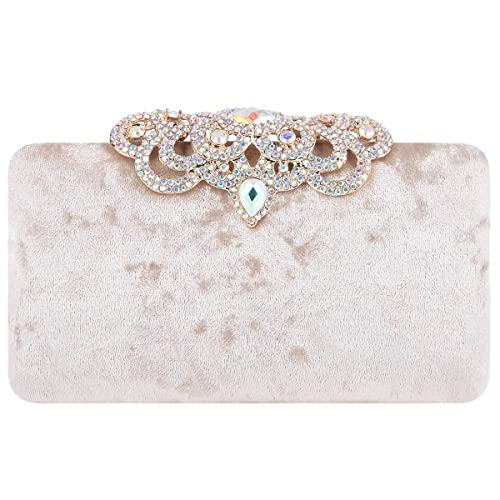 Amazon.com: Fawziya - Clutches para mujer con purpurina de ...