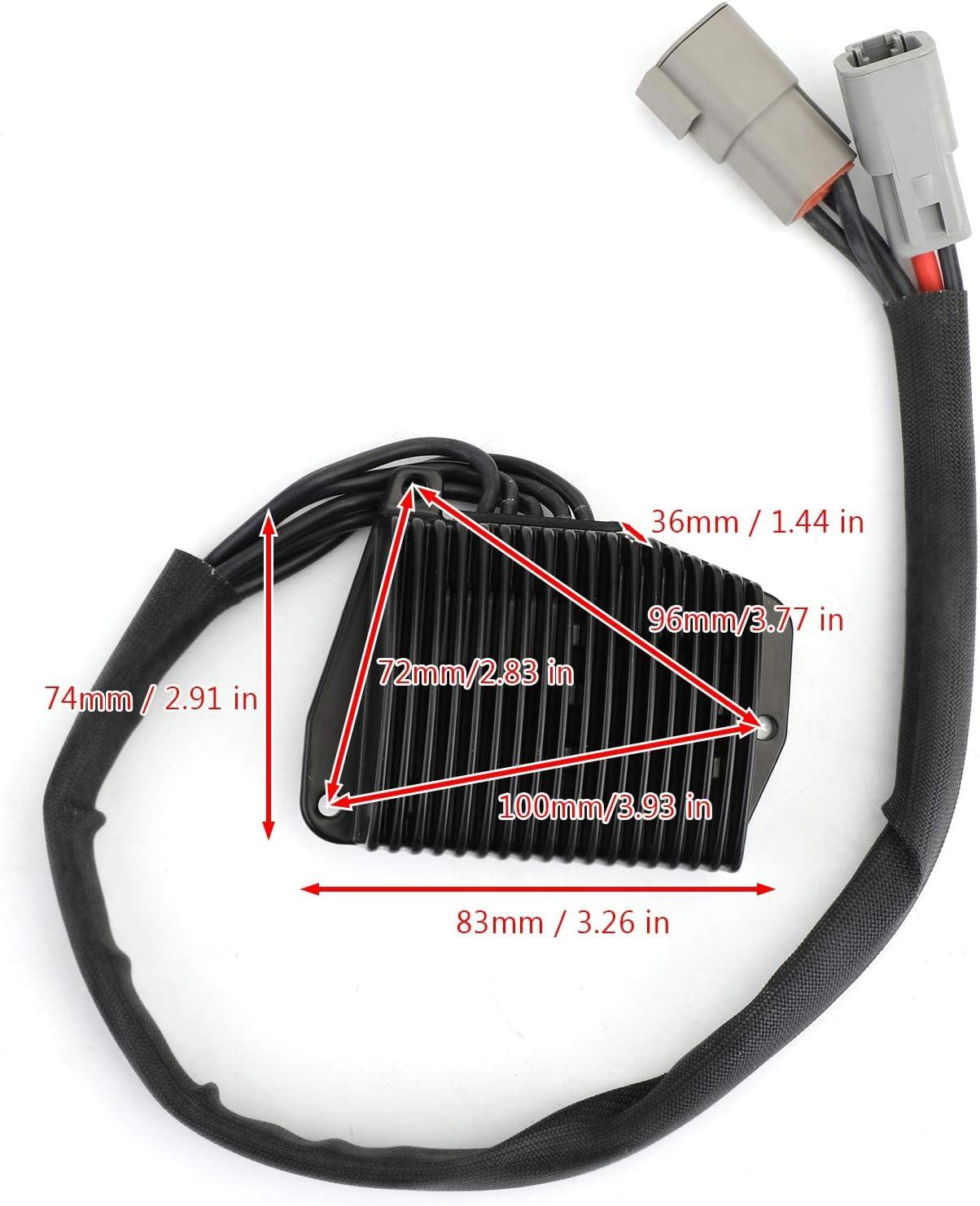 Areyourshop Rectificador regulador de voltaje para b-u-e-l-l XB9R Firebolt 2002-2007 #Y1302-02A8