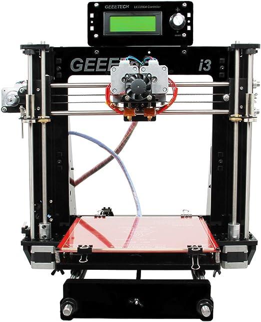 Geeetech Reprap 3D printer Prusa i3 Pro C Acrylic Frame Dual Nozzle MK8 extruder