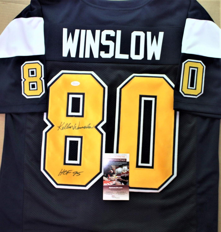 Autographed Kellen Winslow San Diego Custom Blue Jersey - with JSA ...