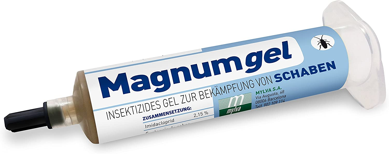 magnumgel Cucarachas 40g–insektizides Gel de Luchar contra cucarachas con imidacloprid