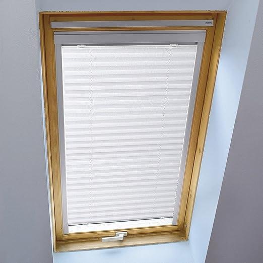 Kinlo 80x130 Cm Blanc Store Pour Fenêtre De Toit Avec