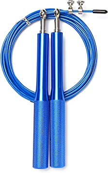 FANDARE Unisexo Cuerda de Salto de Alta Velocidad Comba Fitness Rope con Rodamientos de Bolas Cuerda Ajustable para Sejercicios Comba de Crossfit Boxeo y Fitness Deportivo Profesional Skipping Rope