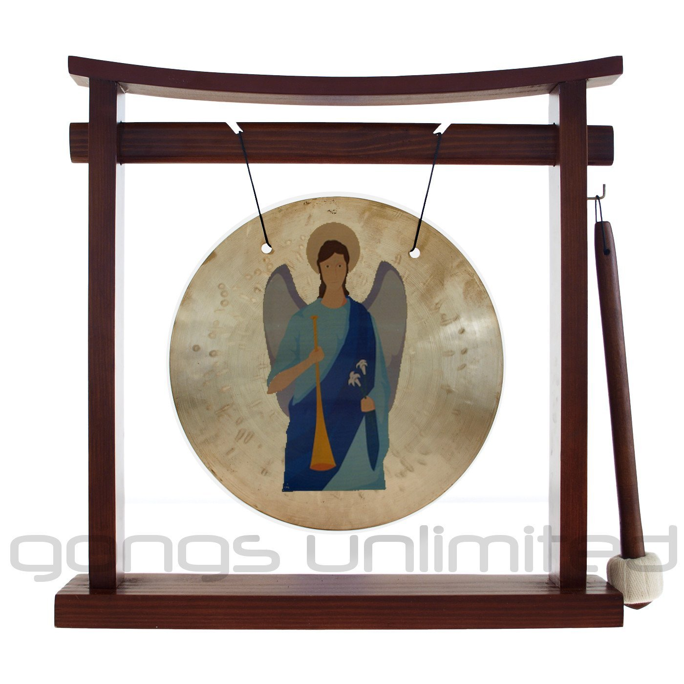 ArchAngel Gongs on Pretty Chill Gong Stands by Unlimited