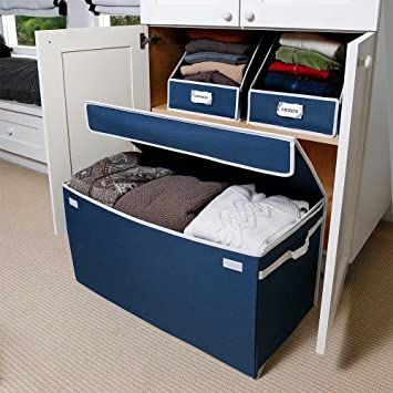 Charmant G.U.S. Canvas All Purpose Storage Chest For Linens, Seasonal Clothes,  Sports Equipment, And