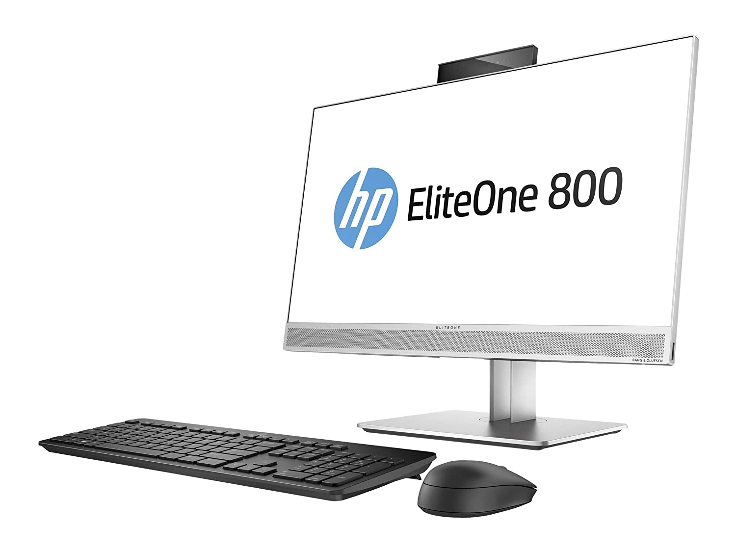 HP 1JF76UT#ABA EliteOne 800 G3 23.8' All-in-One PC - 8 GB RAM - 256 GB SSD - Intel HD Graphics - Black/Gray