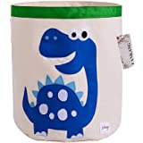 FANKANG Storage Baskets,Collapsible Convenient Nursery Hamper/Laundry Bin/Toy Collection Organizer for Kid's Room(Animal-Dino