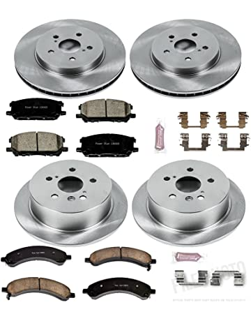 Autospecialty KOE4530 1-Click OE Replacement Brake Kit