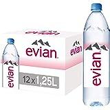 Evian Natural Mineral Water 12 x 1.25L
