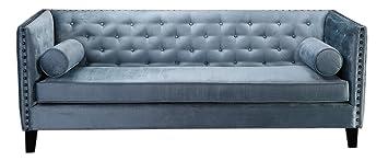 SIT Möbel 6004 13 3 Sitzer Sofa Aus Stoff, Beine Aus Hevea