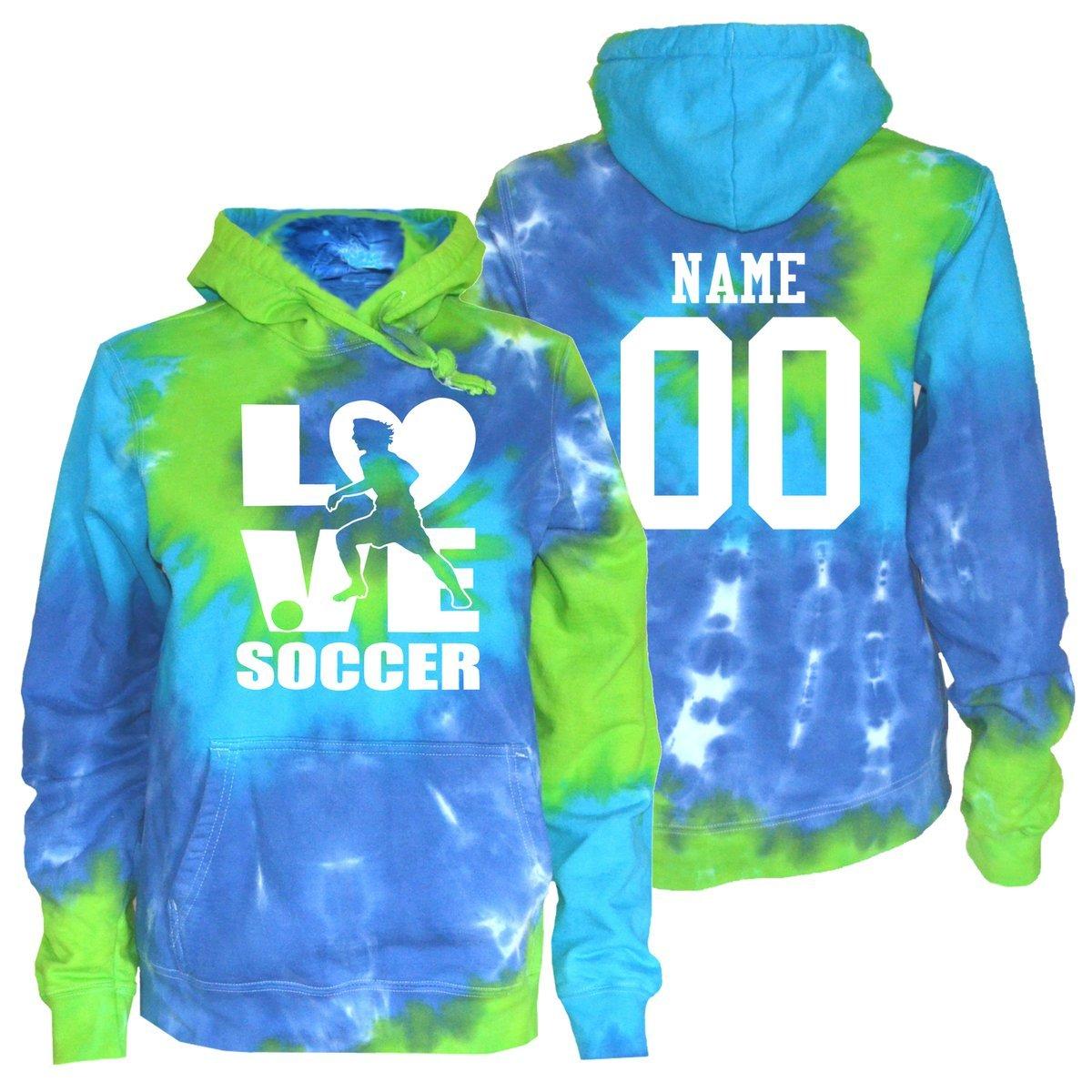 【激安】 Jant GirlカスタムサッカーTie Dye Small Sweatshirt Twist – Soccer Stacked Logo B078BRV735 Adult Adult Small (85-95 lbs.)|Blue Green Twist Blue Green Twist Adult Small (85-95 lbs.), ネムロシ:50d91ed0 --- svecha37.ru