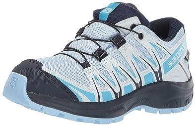 best service 613fb f34c3 Salomon Kids XA Pro 3D CSWP J, Trail Running Shoe, Cashmere Blue Graphite