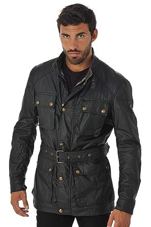 b7c4994de7cd Belstaff Men s Roadmaster Jacket Man Black 90000