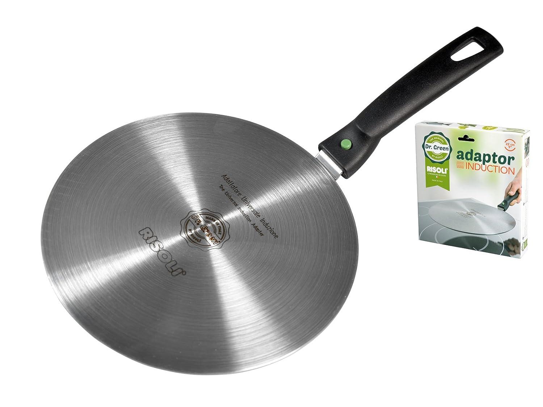 Bormioli Rocco Plancha Adaptador para Inducción, diámetro de 220 mm: Amazon.es: Hogar