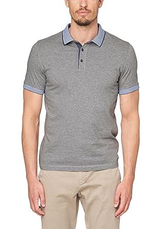 s.Oliver Herren Poloshirt mit Knopfleiste, Einfarbig, Gr. XX-Large,