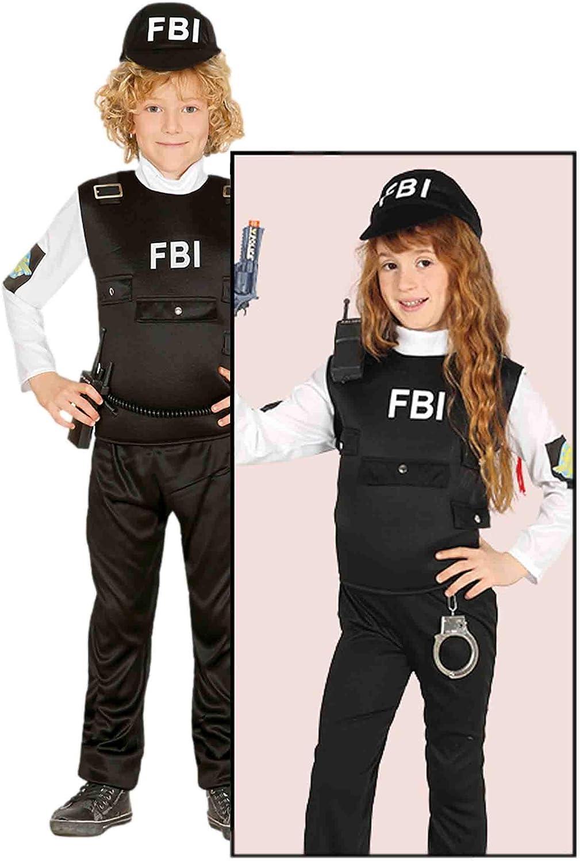 Guirca - Disfraz de Agente FBI: Guirca: Amazon.es: Hogar