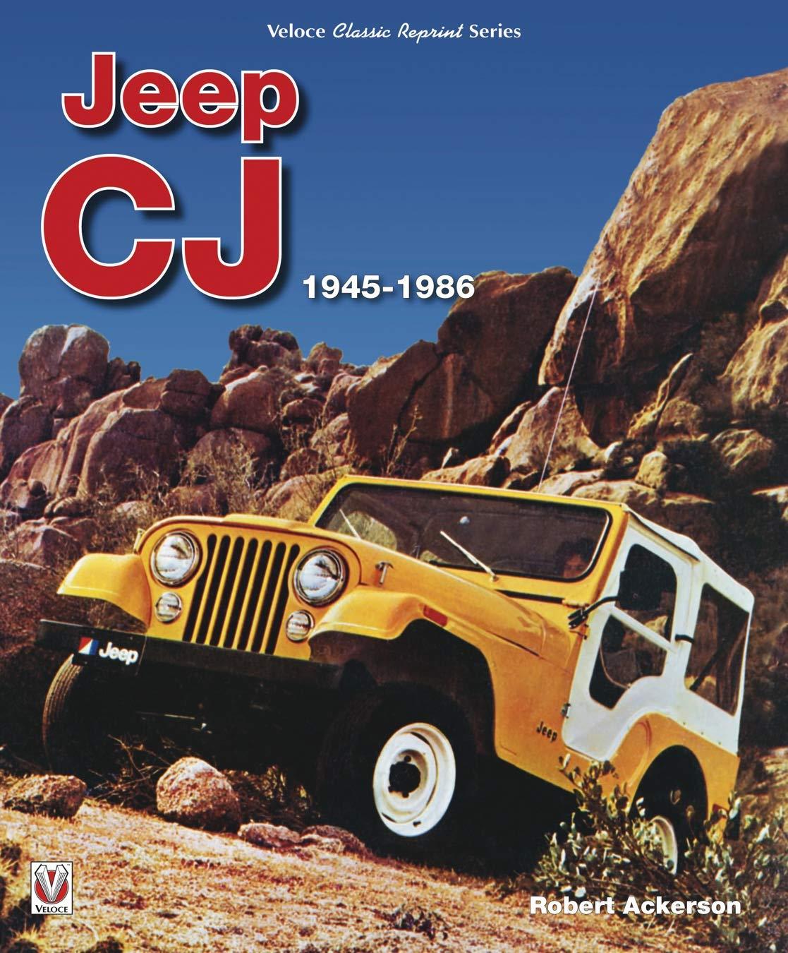 Jeep CJ 1945   1986  Classic Reprint