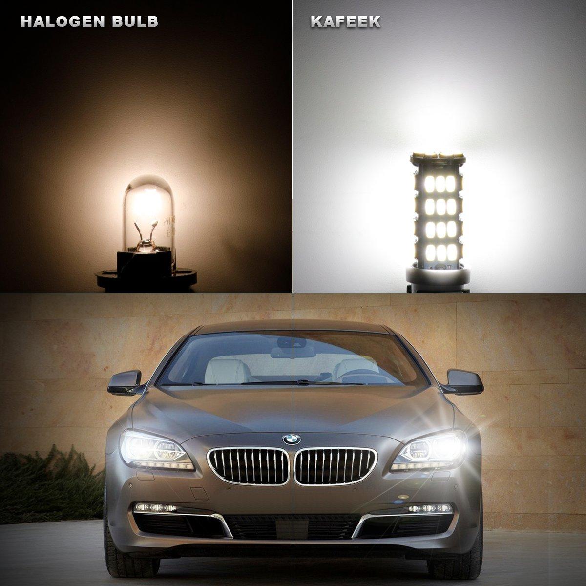 KAFEEK 10x RV Trailer T10 921 194 168 2825 912 LED Bulbs 12V Interior Light Backup Reverse Light 54-3014 Chipset,White 4333002162
