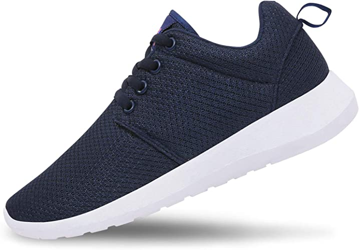 Men/'s Sports Sneakers Fashion Running Shoes Breathable Elastic Sole Soft Inside