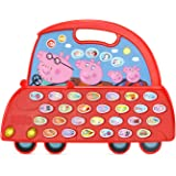 VTech 80-530600 Peppa Pig Learn & Go Alphabet Car Learning Toy,Red