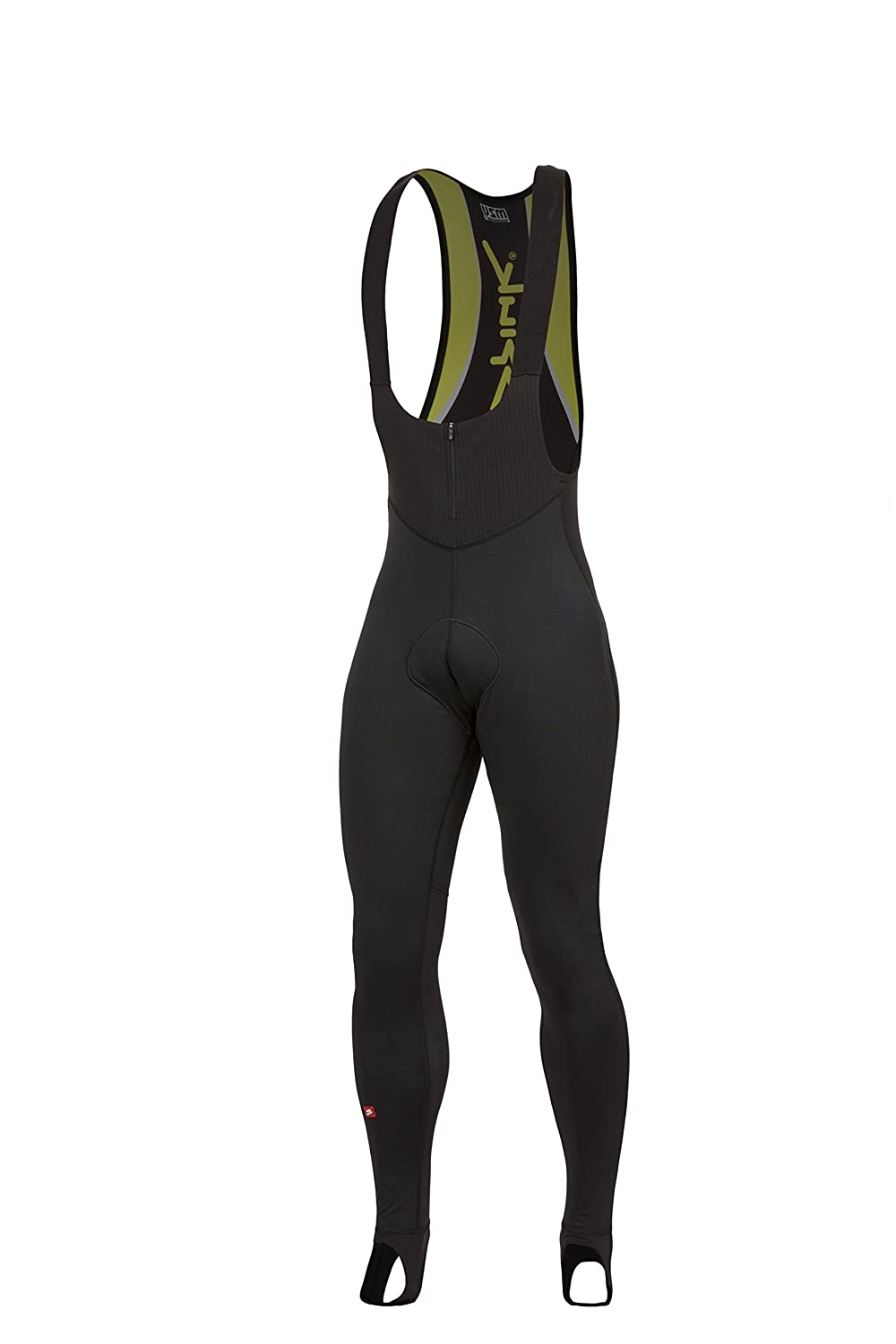 Spiuk Elite Plus Bibtights, gelb, schwarz, Gr.