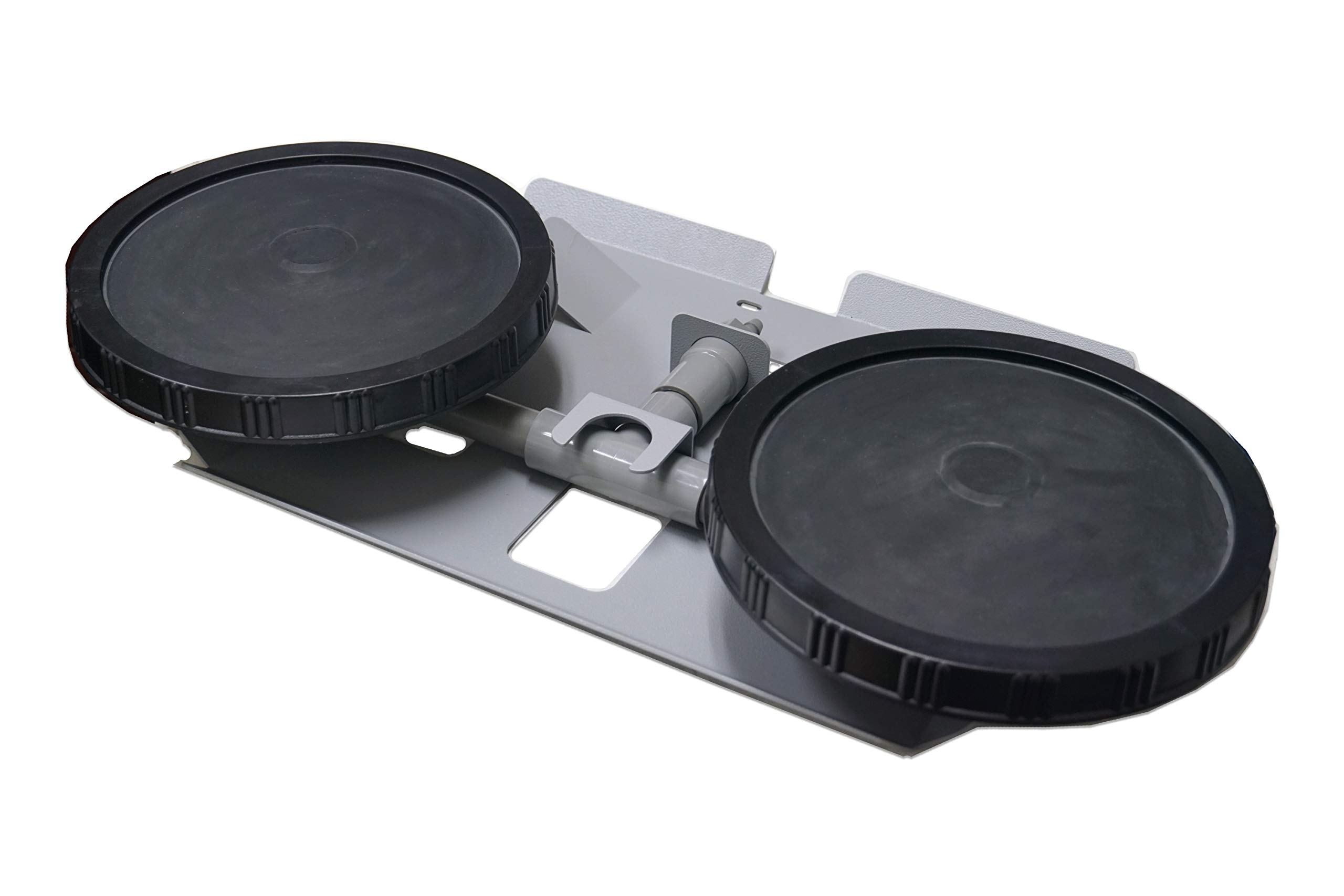 Patriot Half Off Ponds (2) 10 Inch EPDM Rubber Membrane Air Diffuser for Pond and Lake Aeration