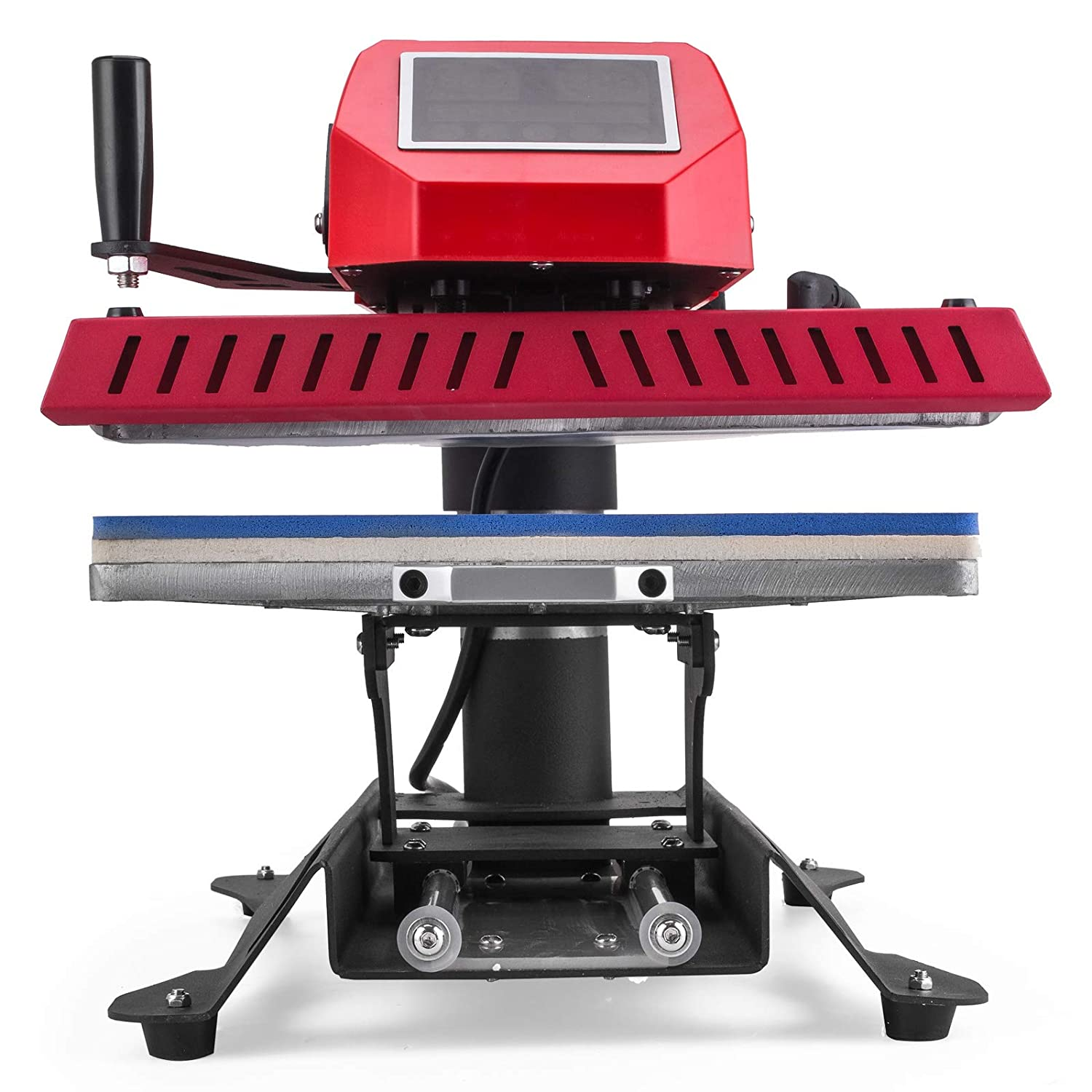 Mophorn Heat Press 12x15 inch 8N1 Multifunctional Heat Press Machine Transfer Combo Swing-Away Heat Press Machine for T Shirts Mug Hat Press LED Digital Controller