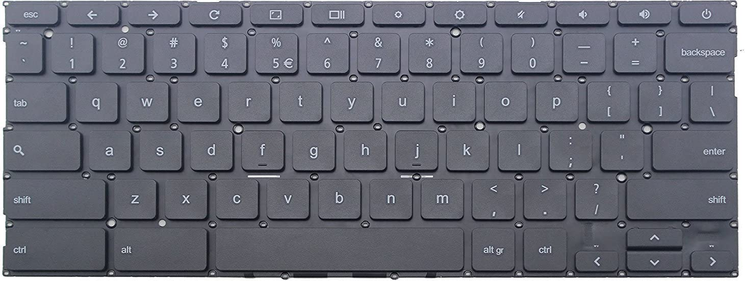 Original New US UI Black Keyboard for ASUS Chromebook C200MA-DS02 C200MA DS02