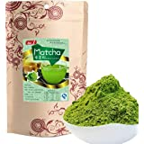 100g (0.22LB) Japanese Matcha Green Tea Powder 100% Natural Organic Slimming Tea Matcha Tea Chinese Tea Raw Tea Healthy Food Green Food