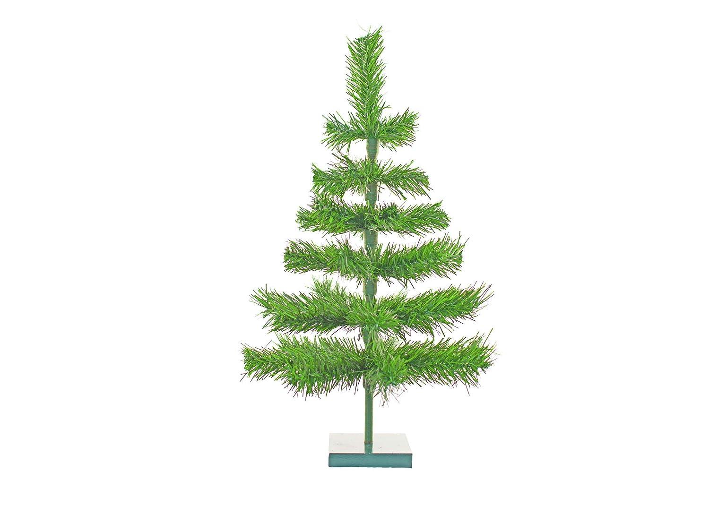 Amazon Com 24 Alpine Green Christmas Tree Retro Style Natural