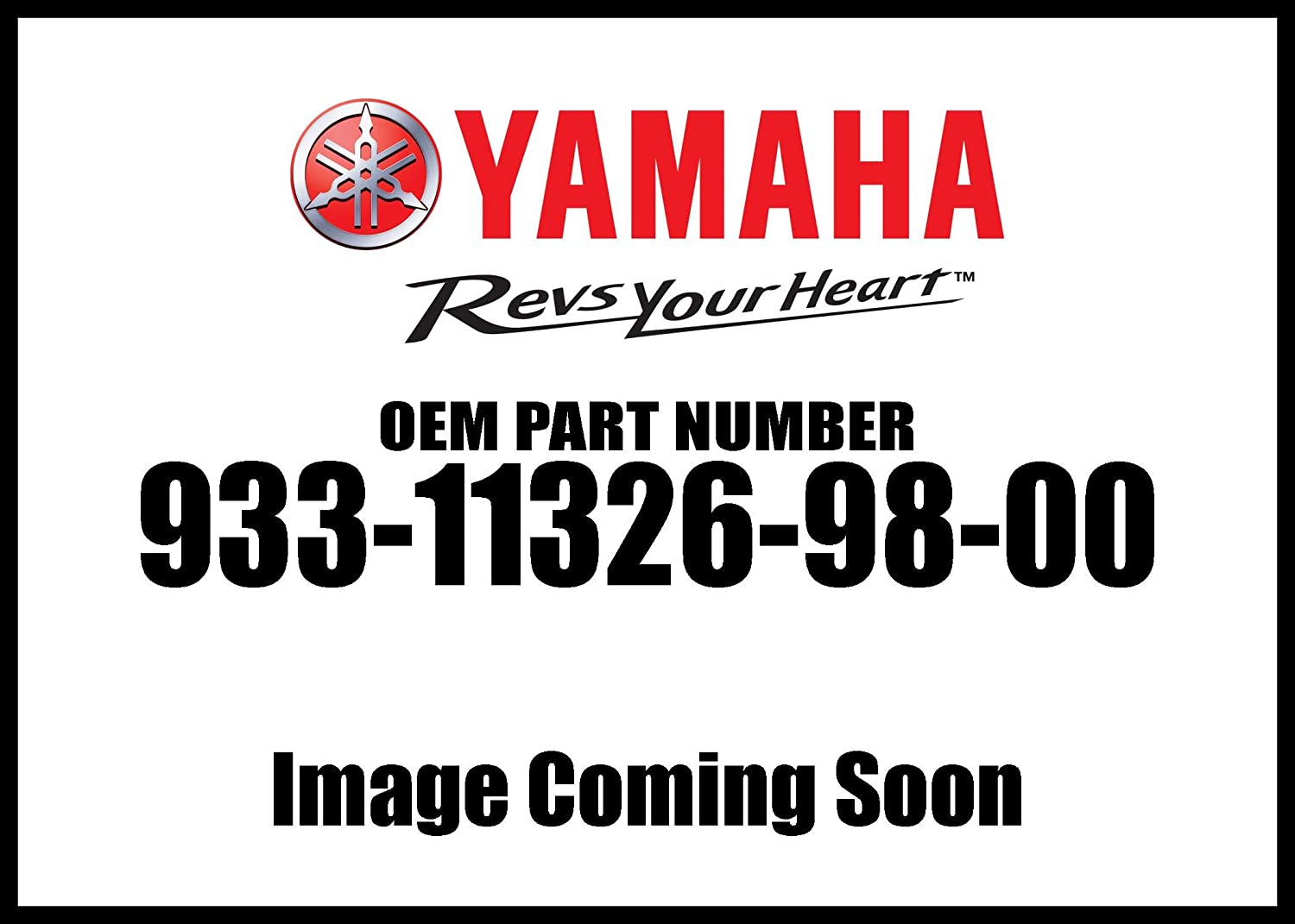 Yamaha 93311-32698-00 Bearing; 933113269800 Made by Yamaha