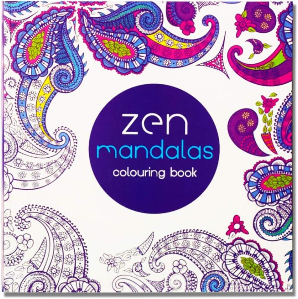 YSZDM Libro de Colorear para Adultos: Jardín Secreto Libro de Colorear con descompresión Mandala Color de Relleno Pintado a Mano Pintura Pintada: Libro de Colorear para Adultos: Amazon.es: Hogar