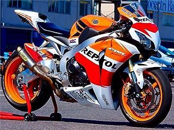 2008 2009 2010 2011 Fit for HONDA CBR1000RR Injection mold Fairing Bodywork Plastic Orange