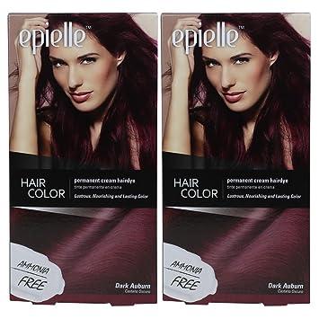 Amazon Com Kareway Epielle Hair Color For Women Dark Auburn Pack