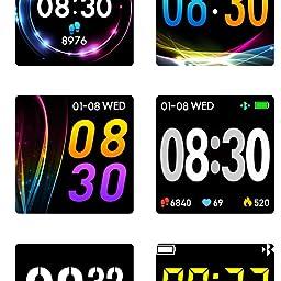 Amazon Co Jp スマートウォッチ 活動量計 Ip68 防水 版 Catshin Cs10 歩数計 腕時計 デジタル Gmail Line通知 消費カロリー 移動距離 睡眠計測 1 3インチ 大字幕 カラースクリーン スマートブレスレット ステンレス リストバンド ストップウォッチ アラーム 多機能