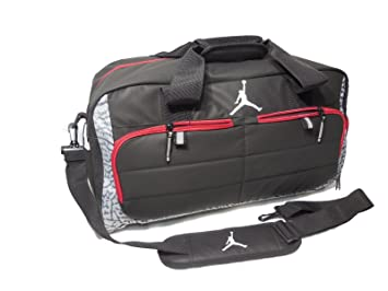 700bfe9ea2c Image Unavailable. Image not available for. Colour  Nike AIR JORDAN JUMPMAN  All World Sport Duffel Bag ...
