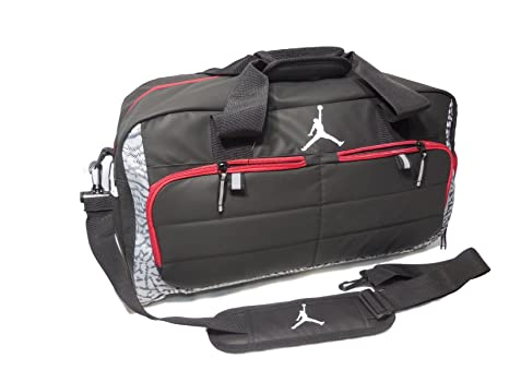 Nike AIR JORDAN JUMPMAN All World Sport Duffel Bag - Wolf Grey (9A1639-176  ) c415d66f09b74