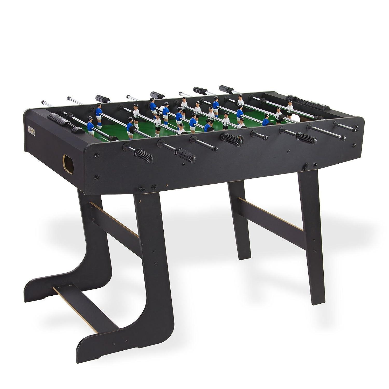 Dema Tischfussball Folding Soccer Light, schwarz, 70089