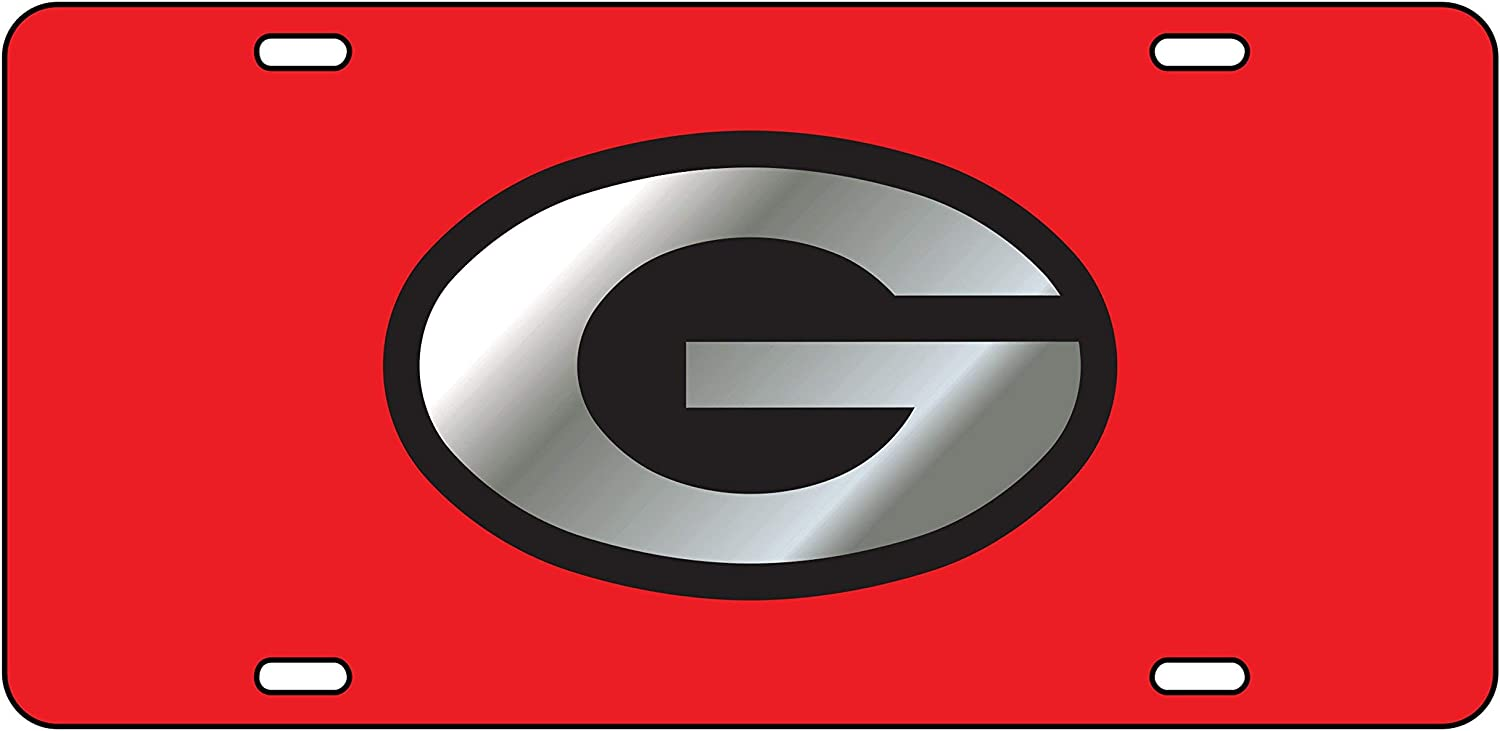 04007 04009 04053 04354 04005 Mirror Acrylic with Domed Logo 04001 University of Georgia License Plates 04051 04049 04013