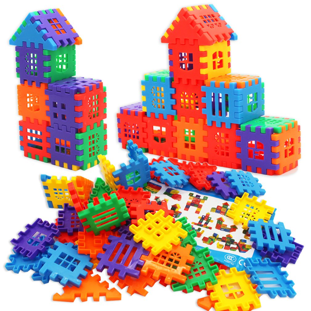 MICHLEY Interlocking Builders Blocks Play Set for Child Review