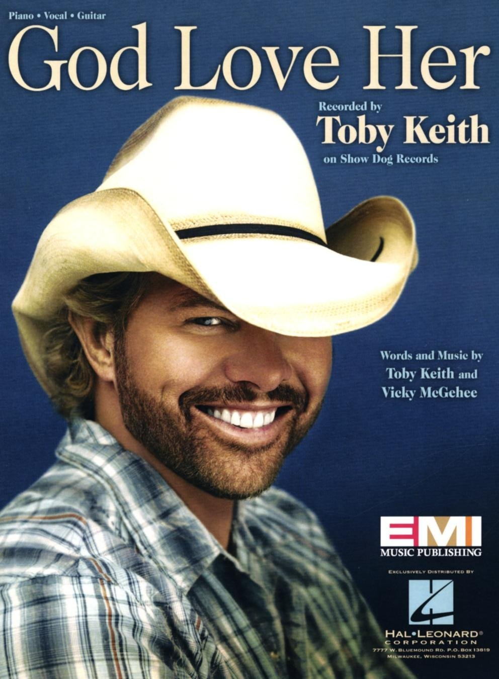 Amazon Toby Keith God Love Her Sheet Music Arranged For Piano