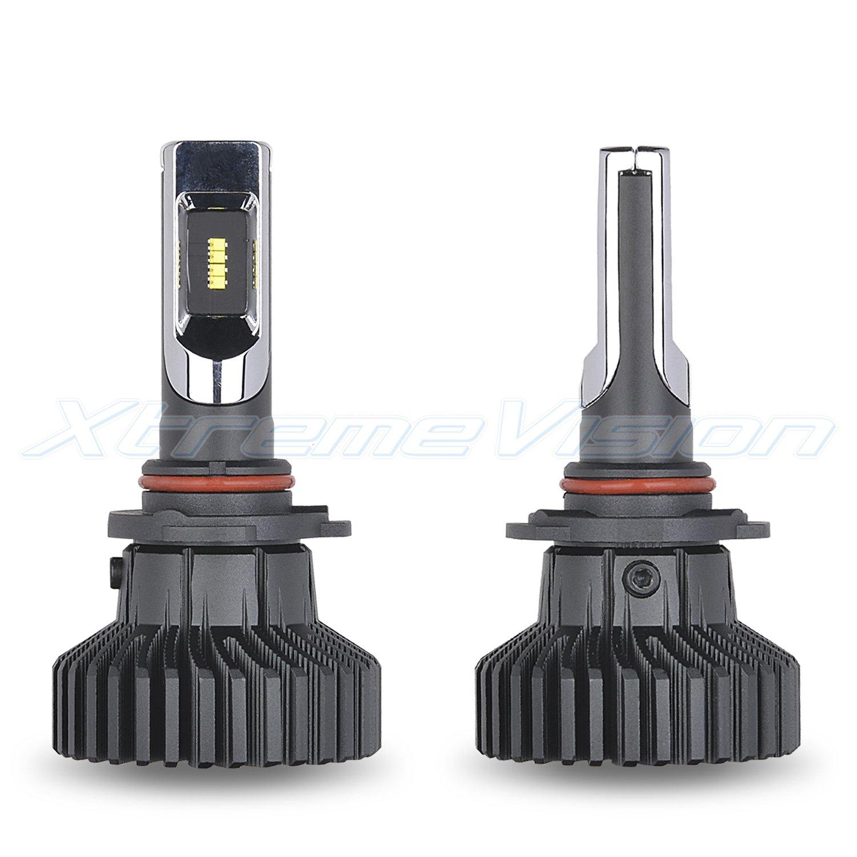 2019 Model XtremeVision X5 12,000LM LED Bulb 6500K ZES Custom-Made 9005 LED Headlight Kit