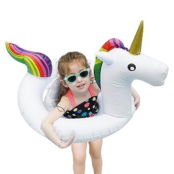 Bramble Flotador de Unicornio Blanco Pequeño - Artículo de Piscina para Niños - Apto para 1-6 Años de Edad - Diversión para la Playa y Piscina: Amazon.es: ...