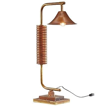 WOHNLING WL3.135 Lámpara de mesa, multicolor, 78 cm, metal ...