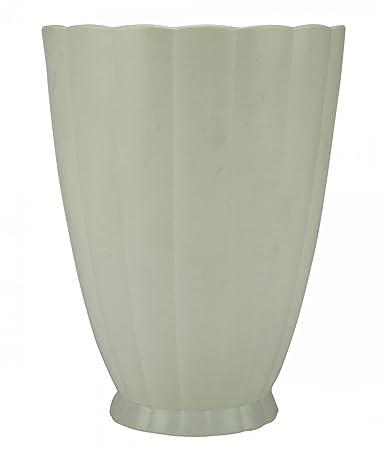 Amazon Art Deco Porcelain Fluted Vase Wedgwood Serving Tapered