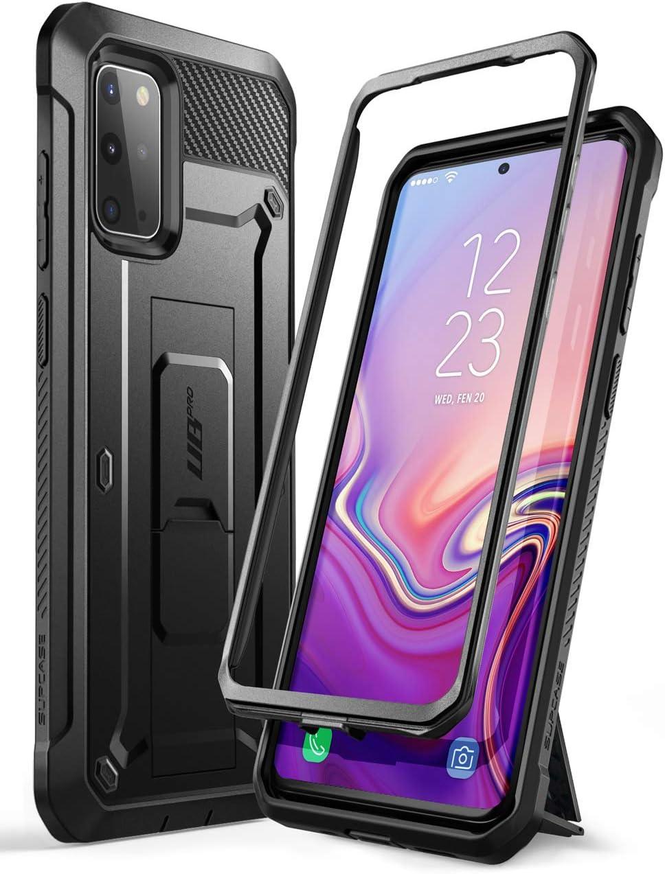 SUPCASE Outdoor Hülle für Samsung Galaxy S20+ Plus Handyhülle Bumper Case Rugged Schutzhülle Cover [Unicorn Beetle Pro] 6.7 Zoll OHNE Displayschutz mit Gürtelclip und Ständer 2020 Ausgabe - Outdoor Case