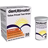 GenUltimate 50 Test Strips For Use with OneTouch Ultra Meters